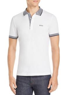 Hugo Boss BOSS Paule Contrast-Stripe Polo Shirt