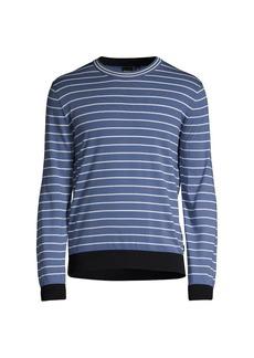 Hugo Boss Boss Peo Knitwear Striped Sweater
