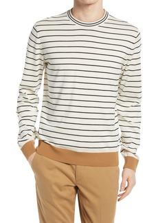Hugo Boss BOSS Peo Stripe Cotton Sweater