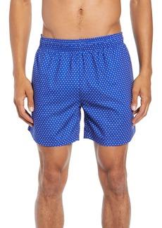 Hugo Boss BOSS Pike Regular Fit Polka Dot Swim Shorts