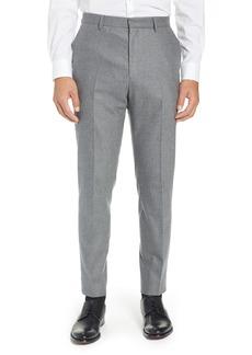 Hugo Boss BOSS Pirko Flat Front Solid Stretch Wool Trousers