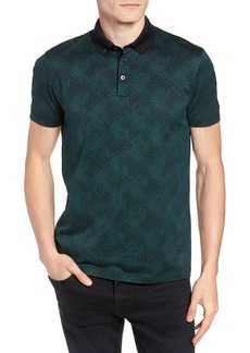 Hugo Boss BOSS Pitton Slim Fit Jacquard Polo