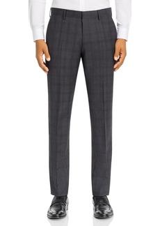 Hugo Boss BOSS Plaid Slim Fit Suit Pants
