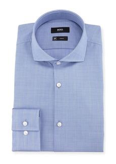 Hugo Boss BOSS Plaid Slim-Fit Travel Dress Shirt