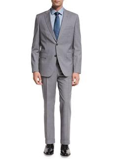 Hugo Boss BOSS Plaid Wool Two-Piece Suit