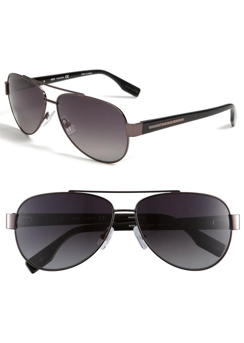 Hugo Boss BOSS Polarized Aviator Sunglasses