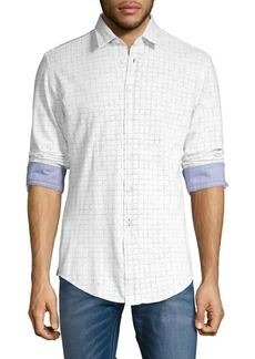 Hugo Boss BOSS Printed Cotton Shirt