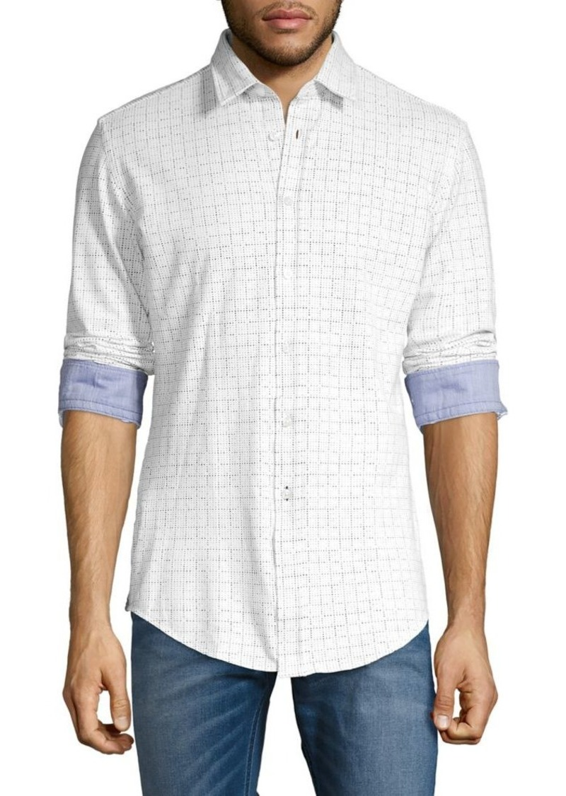 Hugo Boss BOSS Printed Cotton Shirt