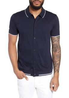 Hugo Boss BOSS Puno Slim Fit Knit Short Sleeve Sport Shirt