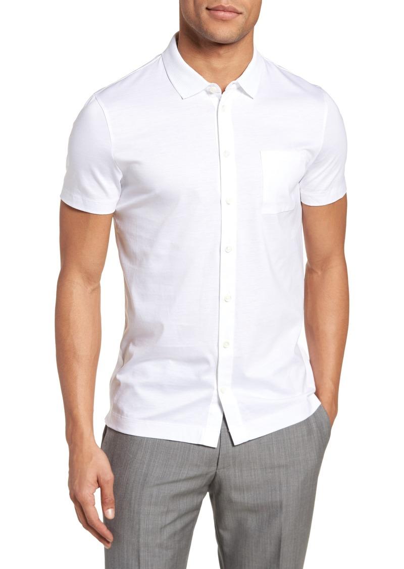 Hugo Boss BOSS Puno Slim Fit Short Sleeve Sport Shirt  8983c108c