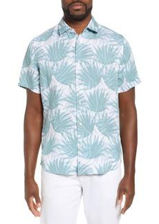 Hugo Boss BOSS Rash Regular Fit Linen Blend Shirt
