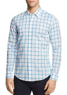 Hugo Boss BOSS Reid Checked Regular Fit Button-Down Shirt