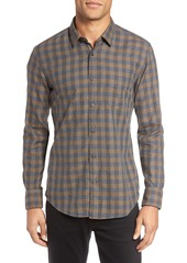 Hugo Boss BOSS Reid Trim Fit Plaid Sport Shirt