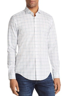 Hugo Boss BOSS Ridley Grid Slim Fit Button-Down Shirt