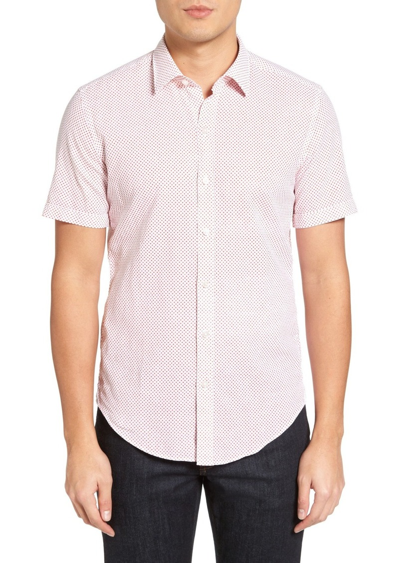 Hugo Boss Boss Robb Sharp Fit Dot Print Shirt Casual