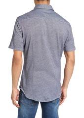 966e2331 Hugo Boss BOSS Robb Sharp Fit Jersey Sport Shirt | Casual Shirts