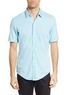 Hugo Boss BOSS Robb Slim Fit Jersey Short Sleeve Sport Shirt