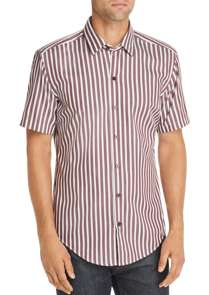 Hugo Boss BOSS Robb Slim Fit Striped Shirt