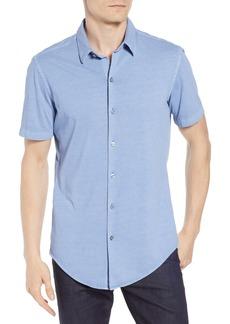 Hugo Boss BOSS Robb Trim Fit Jersey Sport Shirt