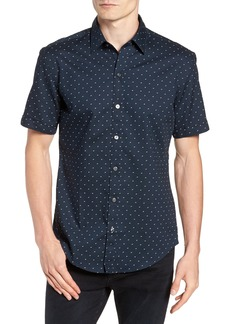 Hugo Boss BOSS Robb Trim Fit Print Sport Shirt