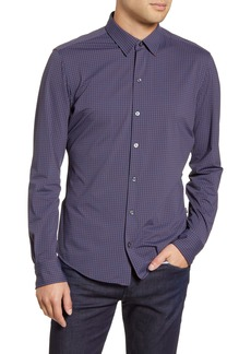 Hugo Boss BOSS Robbi Medallion Print Slim Fit Button-Up Shirt