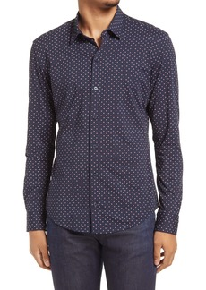 Hugo Boss BOSS Robbie Slim Fit Button-Up Shirt