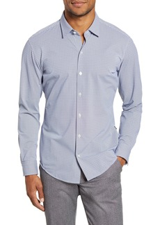 Hugo Boss BOSS Robbie Sharp Fit Button-Up Stretch Nylon Shirt