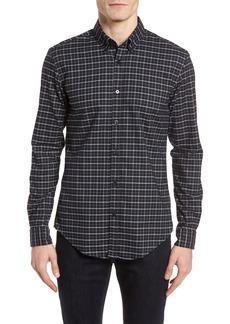 Hugo Boss BOSS Rod Slim Fit Oxford Check Sport Shirt