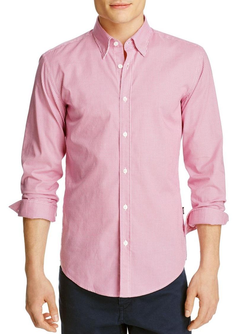 Hugo Boss BOSS Rodney Gingham Slim Fit Button-Down Shirt