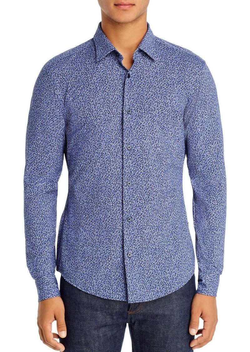 Hugo Boss BOSS Ronni Abstract Print Slim Fit Shirt