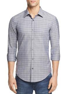 Hugo Boss BOSS Ronni Dobby Check Button-Down Shirt
