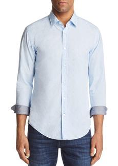 Hugo Boss BOSS Ronni Dot Slim Fit Button-Down Shirt
