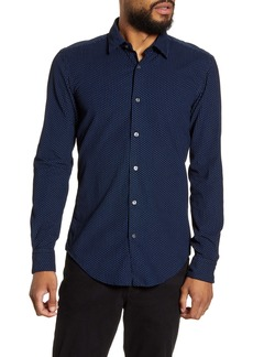 Hugo Boss BOSS Ronni Fo Slim Fit Button-Up Corduroy Shirt