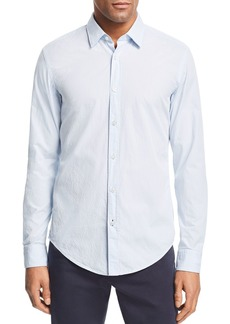 Hugo Boss BOSS Ronni Micro-Embroidered Slim Fit Shirt