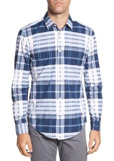 Hugo Boss BOSS Ronni Slim Fit Check Sport Shirt