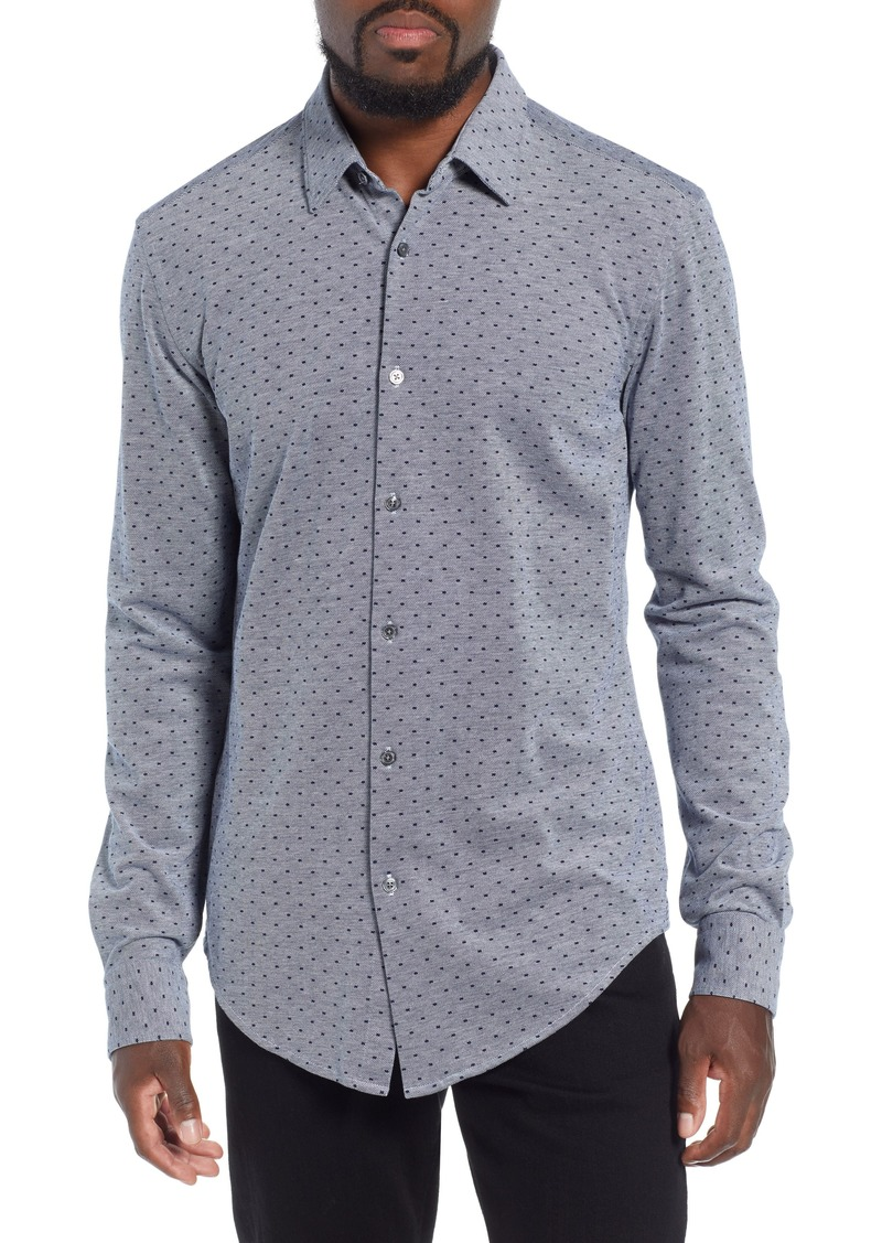 a5d577df Hugo Boss BOSS Ronni Slim Fit Dot Sport Shirt | Casual Shirts