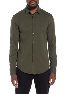 Hugo Boss BOSS Ronni Slim Fit Solid Sport Shirt