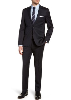 Hugo Boss BOSS Ryan/Win Extra Trim Fit Solid Wool Suit