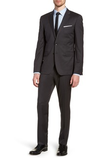 Hugo Boss BOSS 'Ryan/Win' Extra Trim Fit Solid Wool Suit