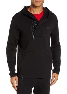 Hugo Boss BOSS Sannok Quarter-Zip Hoodie Sweatshirt