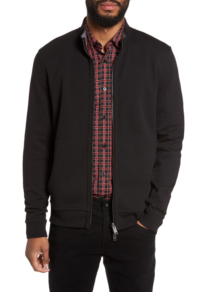 3da152b8428 Hugo Boss BOSS Scavo Reversible Fleece Jacket | Outerwear