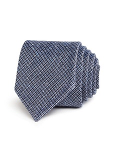 Hugo Boss BOSS Seasonal Diamond Weave Skinny Tie
