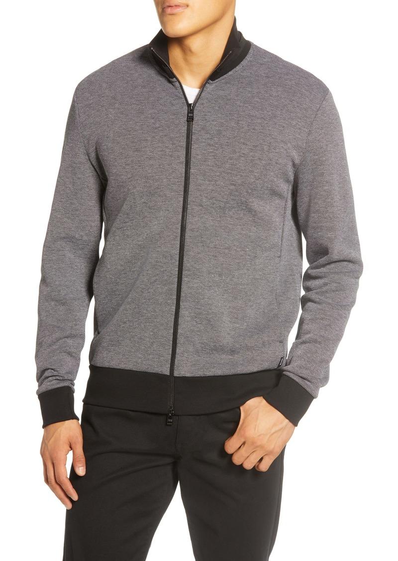 Hugo Boss BOSS Shepherd 21 Regular Fit Zip Sweatshirt Jacket