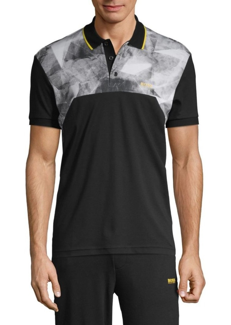 Hugo Boss BOSS Short-Sleeve Cotton Polo
