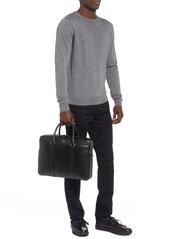 Hugo Boss BOSS Signature Leather Briefcase