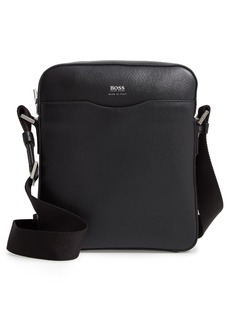 Hugo Boss BOSS Signature Leather Reporter Bag