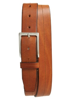 Hugo Boss BOSS Simo Stitch Calfskin Leather Belt
