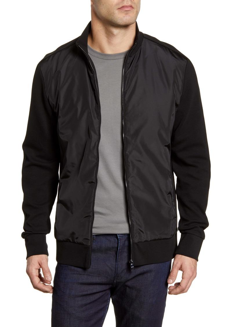 Hugo Boss BOSS Skiles Regular Fit Zip Bomber Jacket