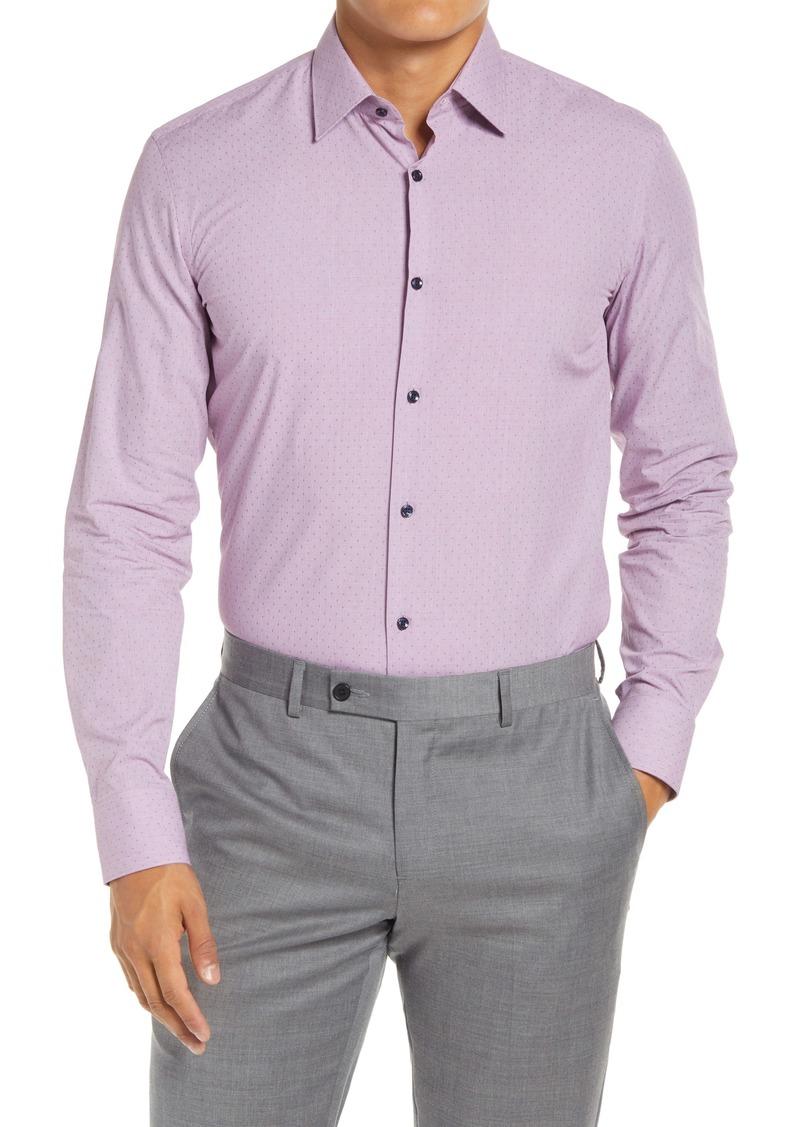 Hugo Boss BOSS Slim Fit Dobby Dress Shirt