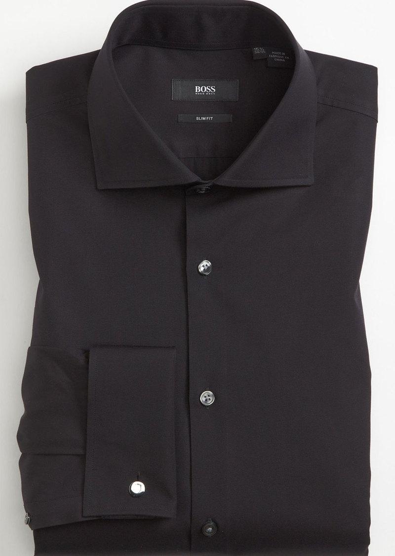 Hugo boss boss slim fit dress shirt dress shirts shop for Hugo boss dress shirts
